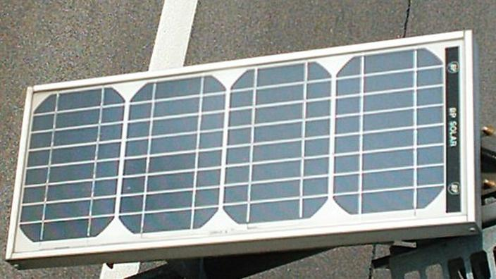 Small retail solar panel
