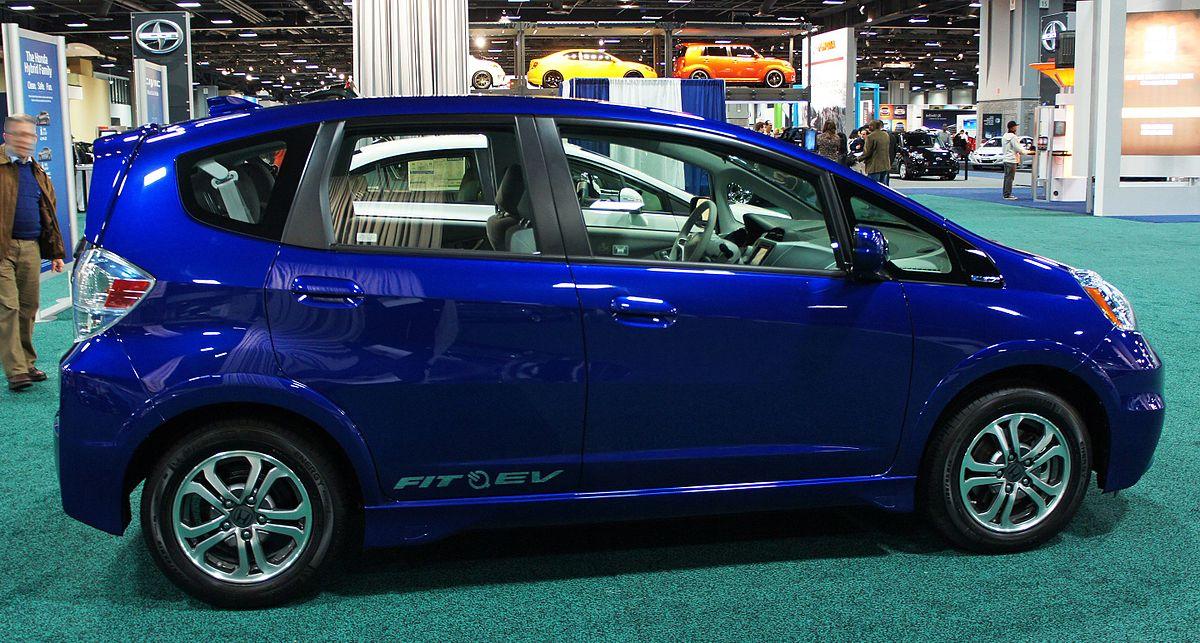 Honda Fit EV — MPGe: 118