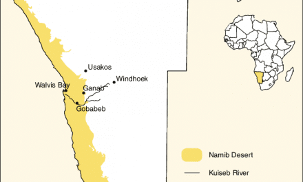 Namib Desert Facts: Conservation Status, Map, Climate, Wildlife