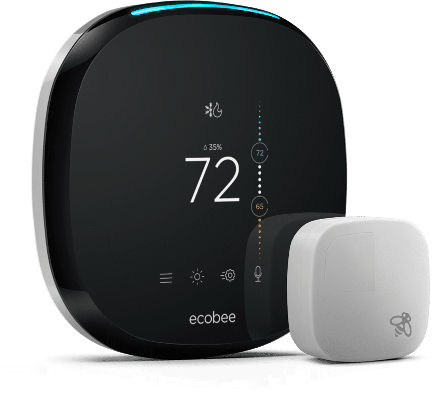 Two ecobee thermostats in one house transfer bench shower chair