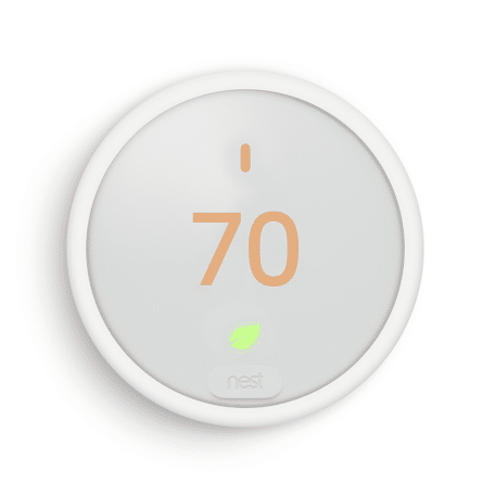 Nest Thermostat Review - Front of unit