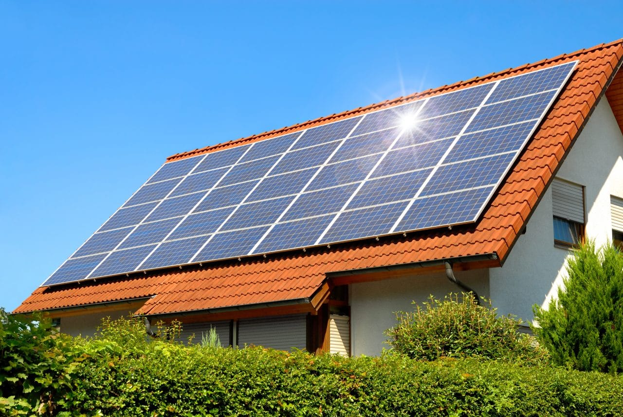 How are the solar panels