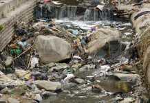 Garbage On Rocks
