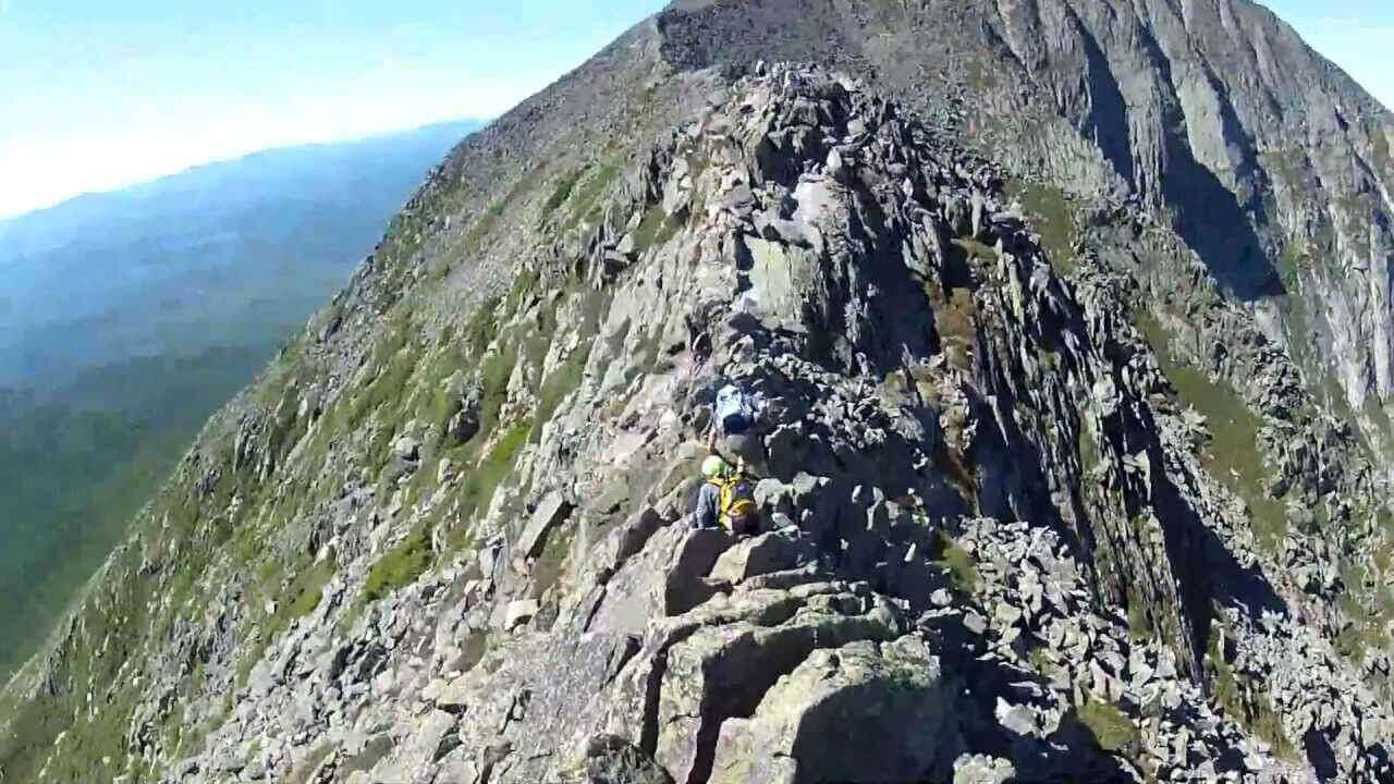 Katahdin Knife's Edge Trail