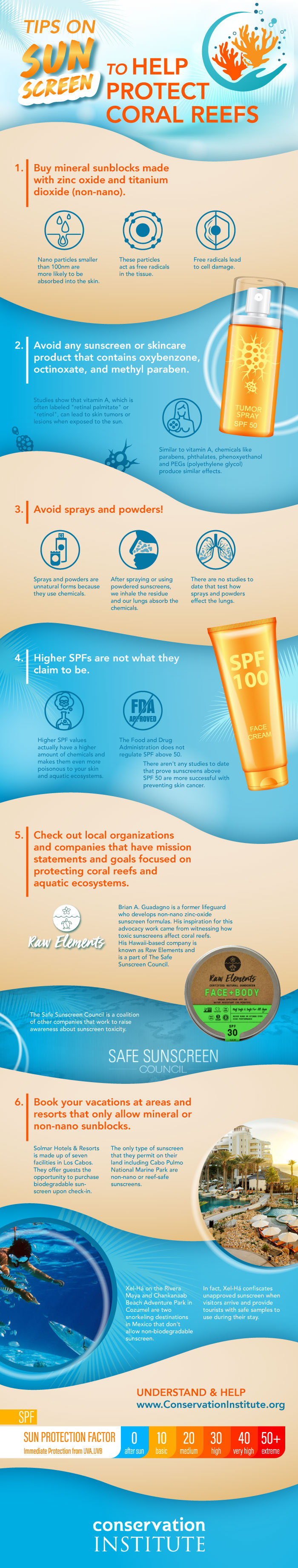 Tips on Sun Screen to Help Protect Coral Reefs